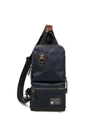 Pu Shoulder Sling Bag Blue Intl uy