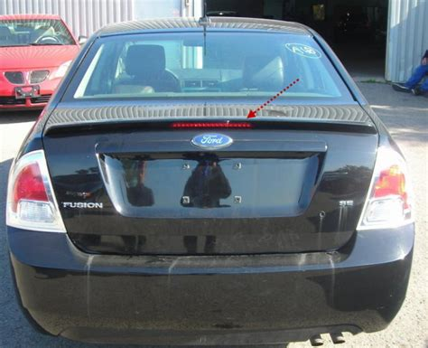 2006 ford fusion tail light fusion 2006 2009 06 09 wing spoiler rear tail 3 third