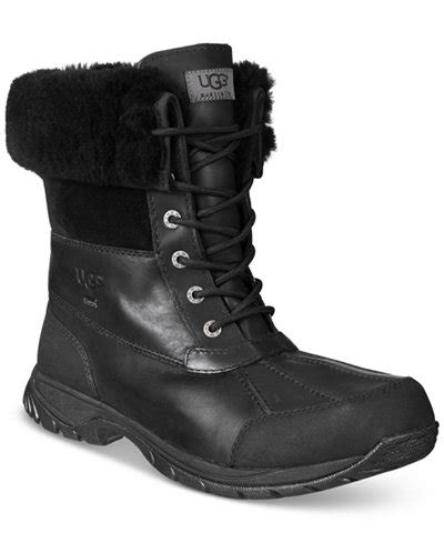 mens ugg butte boots ugg 174 s waterproof butte boots all s shoes