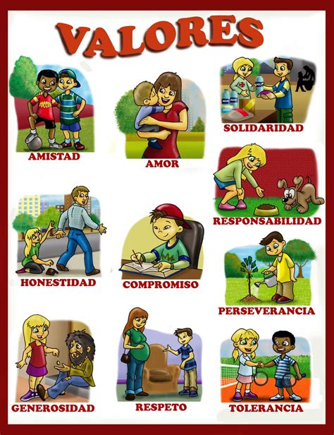 imagenes que representan valores familiares formaci 243 n infantil los valores desde la familia valores