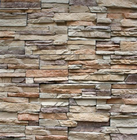 ledgestone cultured veneer stacked manufactured panels ebay
