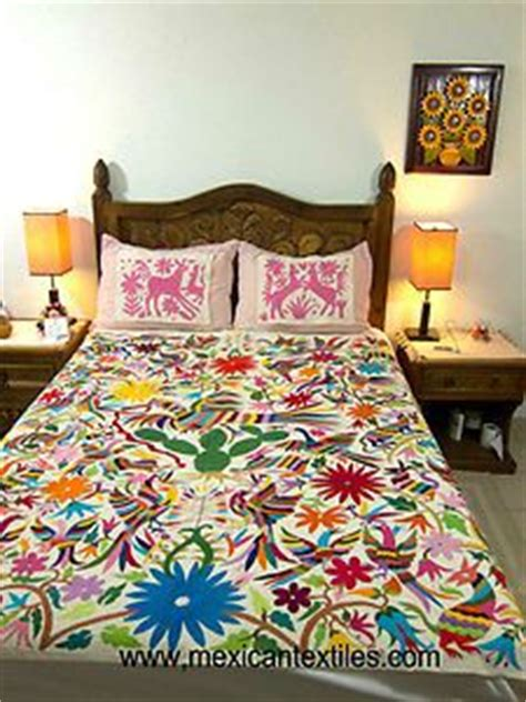 mexican embroidered bedding home mexico central and south america inspired on