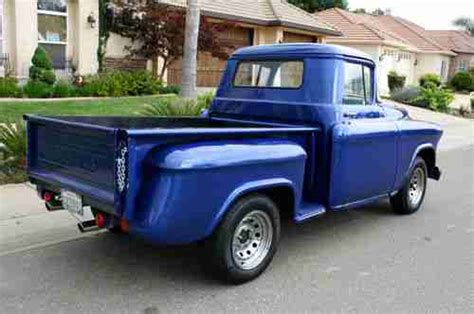 1957 chevy stepside pick up sell used 1957 chevrolet stepside pickup short bed hot rod