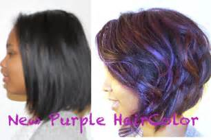 what to dye your hair when its black how to color your hair purple and keep it healthy youtube