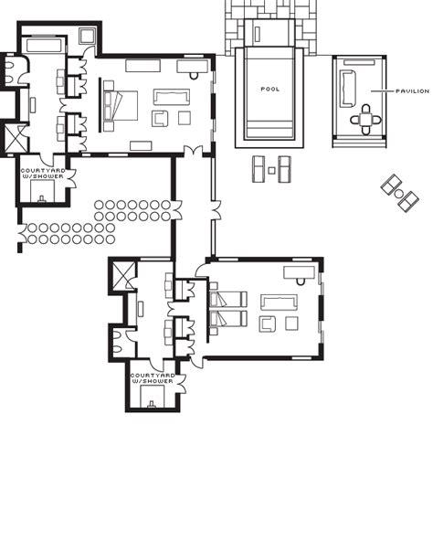 grundrisse mit zwei schlafzimmern malediven villa familien strand bungalow mit zwei