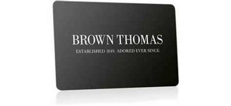 Brown Thomas Gift Card - brown thomas loyalty card