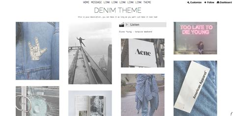 tumblr themes cute and simple themes by faede