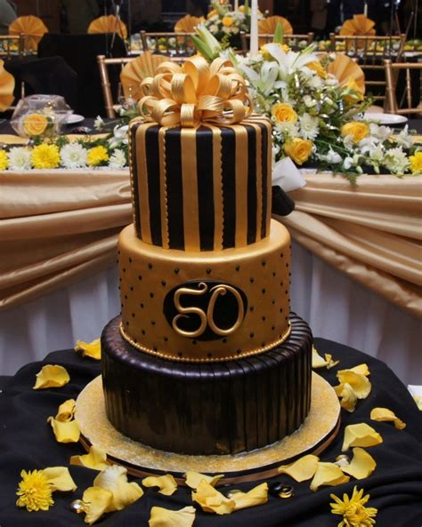 Black And Gold 50th Birthday Decorations by Black And Gold 50th Birthday Decorations