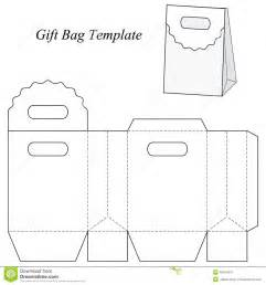 small gift bag template blank gift bag template stock vector image 48154670