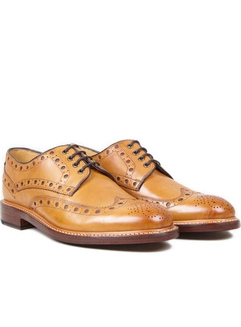 Sepatu Boot Oliver inspirasi sepatu kulit manding leather brogues shoes