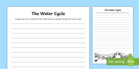 Pictures Water Cycle Writing Activity - photos water cycle writing activity quotes