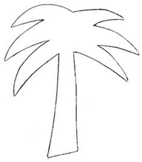 Palm Tree Leaves Outline by 1000 Images About Templates On Gift Tag Templates Leaf Template And Cupcake Template