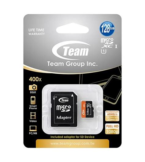 Dijamin Mamory Card Team Flash Card For Mobile Uhs 3 R 90mb 32gb 128gb team microsdxc cl10 uhs 1 400x high speed mobile