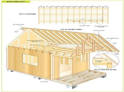 wood cabin plans  diy shed plans  cottage