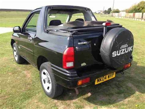 Suzuki Grand Vitara Convertible Suzuki Grand Vitara 16v Sport Convertible 1 6 With New