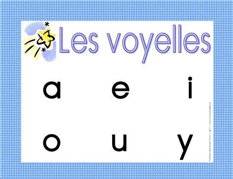 Affiche Des Voyelles Rapido Pr 233 Sco