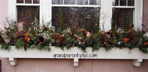 easy holiday window box ideas bless  weeds
