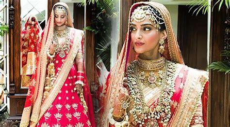 sonam kapoor wedding pics indias wedding blog