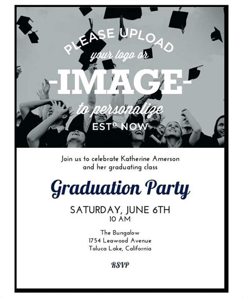 College Graduation Party Invitations Invitation Template Free Printable Word Publisher Christmas Graduation Dinner Invitation Template Free