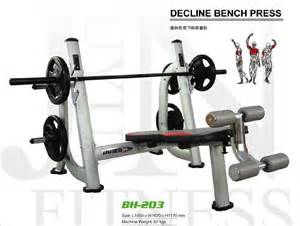 how to do decline bench press decline bench press