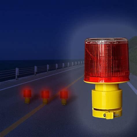 Solar Powered Warning Lights Solar Powered Traffic Warning Light Led Safety Signal