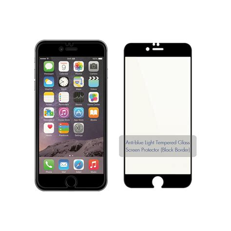 anti blue light tempered glass screen protector  iphone