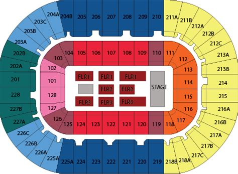 Joe Louis Arena Floor Seating Chart by Green Day Tickets In Detroit On 3 27 Joe Louis Arena
