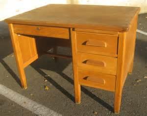 oak teachers desk uhuru furniture collectibles sold smaller oak