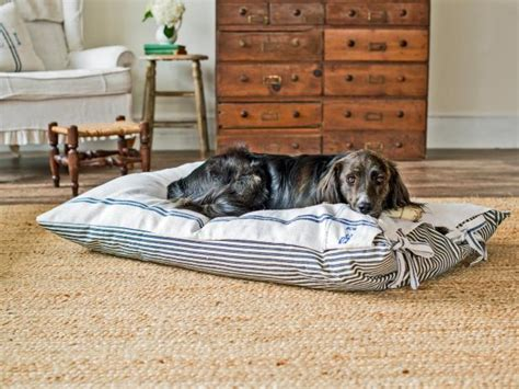 diy dog r for bed pet projects make a diy dog bed hgtv