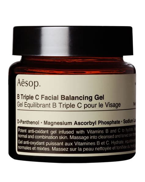Free Balancing Gel Lotion 60 Ml 1 aesop b c balancing gel cult