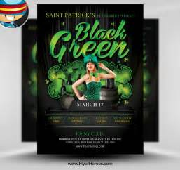 11 green photoshop flyer psd images green psd background free psd poster design
