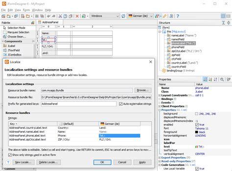 free design layout netbeans jformdesigner java swing gui designer formdev