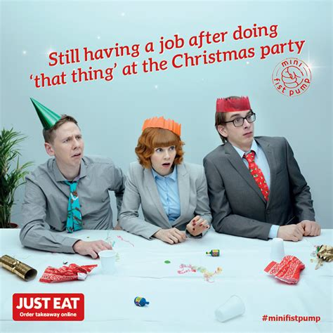 how to survive your work christmas party the just eat blog