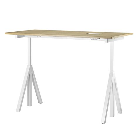 Adjustable Height Work Desk by String Works Adjustable Height Work Desk