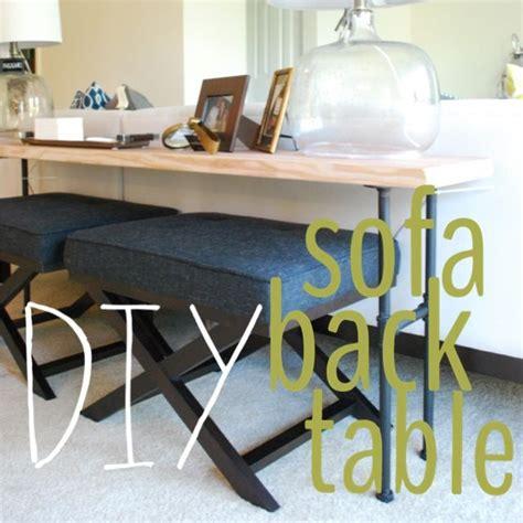 diy sofa bench beautiful diy industrial sofa table easy diy diy