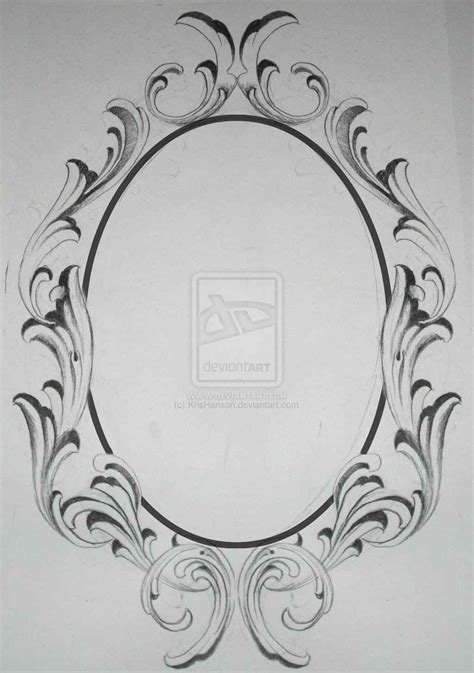 oval tattoo designs gallery images and information oval filigree frame