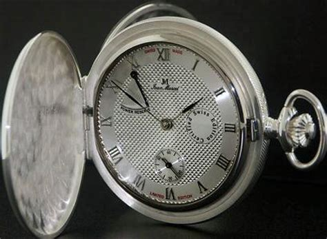 jean marcel pocket watches white manual wind power