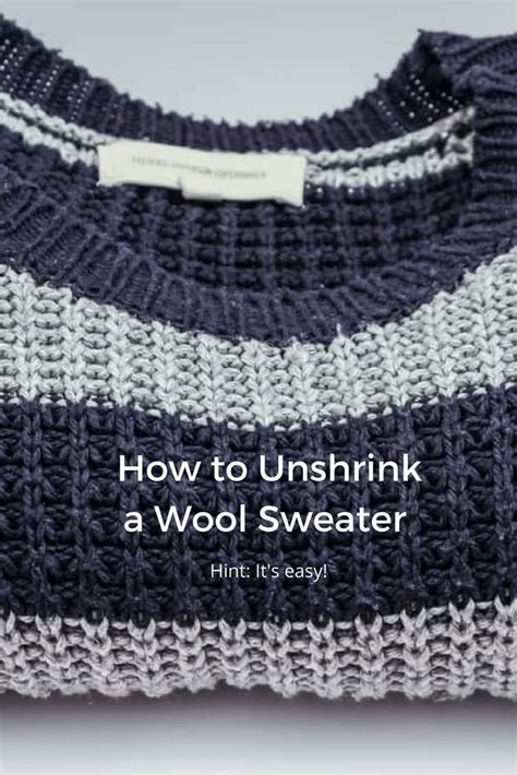 top 28 how to unshrink wool sweater see how to