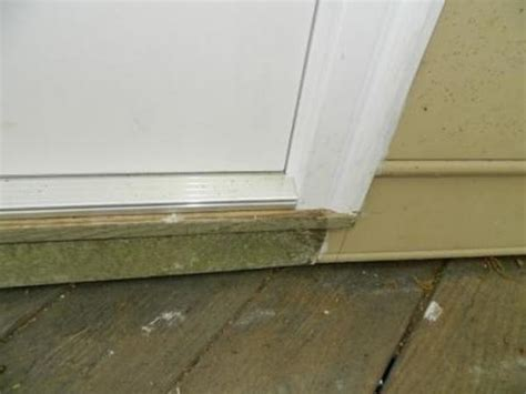 Patio Door Sill by Improper Patio Door Install Doityourself Community