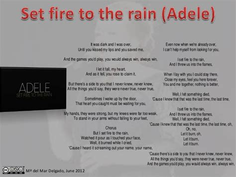 set fire to the rain by adele f t smith sheet music on adele set fire to the rain