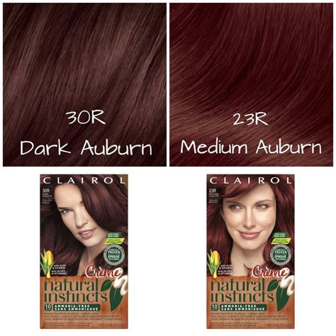 natural instincts hair color shades feeling red hot try a natural instincts creme shade