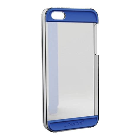 Colorant For Iphone 5c0 Clear iphonese 5s 5 ケース colorant c2 clear 215 blue colorant