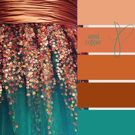 copper color combinations 431 best images about combinaciones de color on pinterest