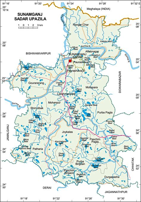 map images index of maps images sunamganj