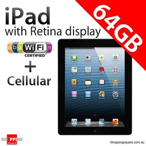 4 Cellular 64gb apple with retina display 4th 64gb wifi cellular black 4 shopping
