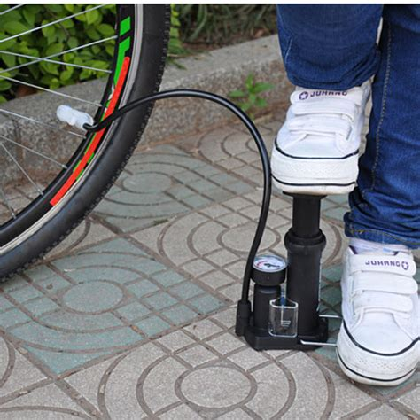Foot Pompa Portable honor high pressure portable bike basket foot