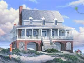 Small Beach House On Stilts Beach House On Stilts Plans Small Coastal House Plans