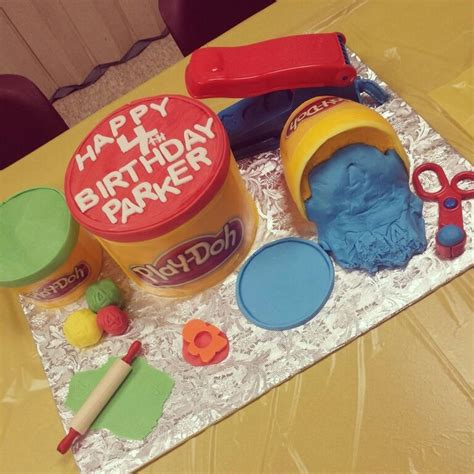 Doh Cake Decor 9 best play doh images on birthdays modelling clay and play doh