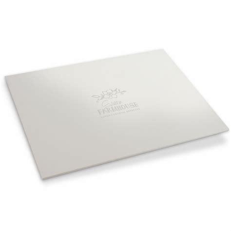 White Desk Blotter Hostgarcia White Leather Desk Pad