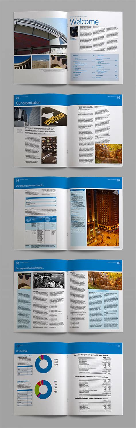 bright indesign annual report template crs indesign